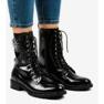 Czarne botki workery SA8023 1