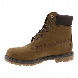 Buty Timberland 6 Premium Boot Jr A19RI brązowe khaki 1