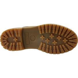 Buty Timberland 6 Premium Boot Jr A19RI brązowe khaki 3