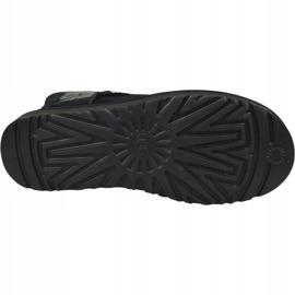 Buty Ugg Classic Mini Rubber Logo W 1108231-BLK czarne 3
