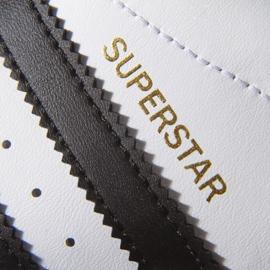Buty adidas Originals Superstar Fundation Jr C77154 białe 4