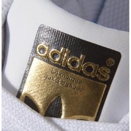 Buty adidas Originals Superstar Fundation Jr C77154 białe 5