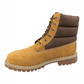 Buty zimowe Timberland 6 In Quilit Boot Jr C1790R brązowe 1