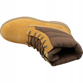 Buty zimowe Timberland 6 In Quilit Boot Jr C1790R brązowe 2