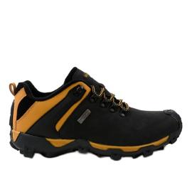 Czarne obuwie trekkingowe MXC-6645 3