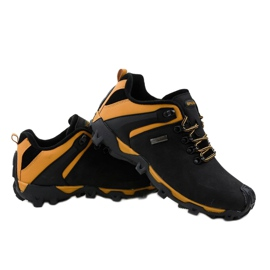 Czarne obuwie trekkingowe MXC-6645 4