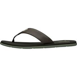 Klapki Helly Hansen Seasand Leather Sandal M 11495-713 brązowe 1