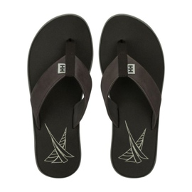 Klapki Helly Hansen Seasand Leather Sandal M 11495-713 brązowe 3