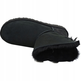 Buty Ugg Mini Bailey Bow Ii W 1016501-BLK czarne 2