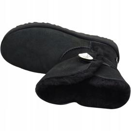 Buty Ugg Bailey Button Bling W 1016553-BLK czarne 2