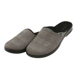 Befado obuwie męskie pu 548M021 szare 4