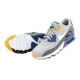 Buty Nike Air Max 90 Ltr Gs Jr 833412-026 białe niebieskie szare 5