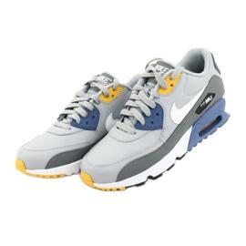 Buty Nike Air Max 90 Ltr Gs Jr 833412-026 białe niebieskie szare 3