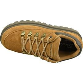 Buty Skechers Shindigs-Stompin 48582-TAN brązowe 2