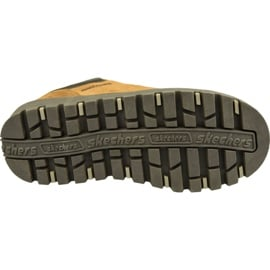 Buty Skechers Shindigs-Stompin 48582-TAN brązowe 3