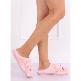 Kapcie damskie różowe MA16 Pink 2