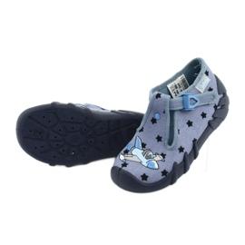 Befado kolorowe obuwie dziecięce 110P345 niebieskie 6