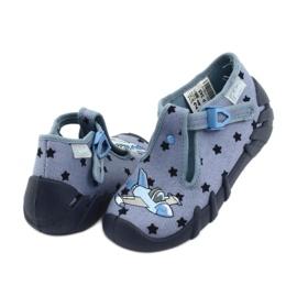Befado kolorowe obuwie dziecięce 110P345 niebieskie 5