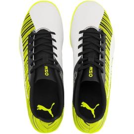 Buty piłkarskie Puma One 5.4 It M 105654 04 żółte biały, czarny, żółty 1