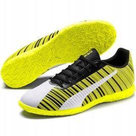 Buty piłkarskie Puma One 5.4 It M 105654 04 żółte biały, czarny, żółty 3