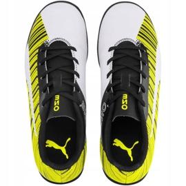 Buty piłkarskie Puma One 5.4 Tt Jr 105662 03 żółte wielokolorowe 1