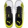 Buty piłkarskie Puma One 5.4 Tt Jr 105662 03 biały, czarny, żółty żółte 1