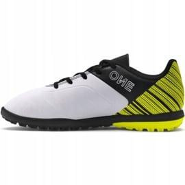 Buty piłkarskie Puma One 5.4 Tt Jr 105662 03 żółte wielokolorowe 2