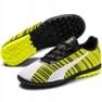 Buty piłkarskie Puma One 5.4 Tt Jr 105662 03 biały, czarny, żółty żółte 3