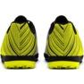 Buty piłkarskie Puma One 5.4 Tt Jr 105662 03 biały, czarny, żółty żółte 4