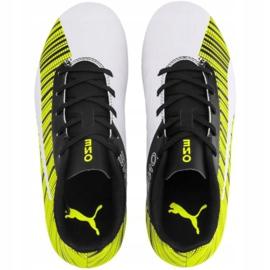 Buty piłkarskie Puma One 5.4 Fg Ag Jr 105660 03 żółte wielokolorowe 1