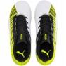 Buty piłkarskie Puma One 5.4 Fg Ag Jr 105660 03 biały, czarny, żółty żółte 1