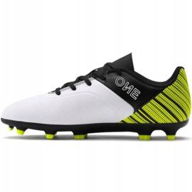 Buty piłkarskie Puma One 5.4 Fg Ag Jr 105660 03 żółte wielokolorowe 2