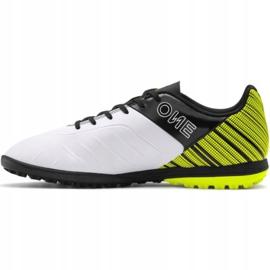 Buty piłkarskie Puma One 5.4 Tt M 105653 03 żółte wielokolorowe 2