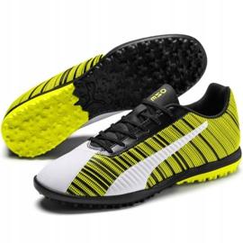 Buty piłkarskie Puma One 5.4 Tt M 105653 03 żółte wielokolorowe 3