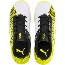 Buty piłkarskie Puma One 5.4 It Jr 105664 04 żółte wielokolorowe 1