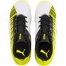 Buty piłkarskie Puma One 5.4 It Jr 105664 04 biały, czarny, żółty żółte 1