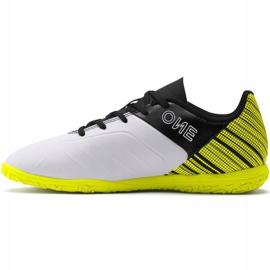 Buty piłkarskie Puma One 5.4 It Jr 105664 04 żółte wielokolorowe 2