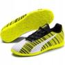 Buty piłkarskie Puma One 5.4 It Jr 105664 04 biały, czarny, żółty żółte 3