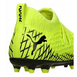 Buty piłkarskie Puma Future 4.3 Netfit Fg / Ag Jr 105693-03 wielokolorowe żółte 1