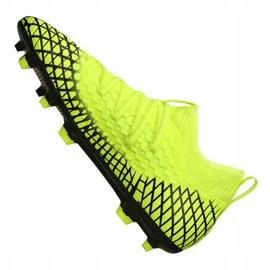 Buty piłkarskie Puma Future 4.3 Netfit Fg / Ag Jr 105693-03 wielokolorowe żółte 4
