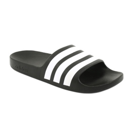 Klapki adidas Adilette Aqua K Jr F35556 białe czarne 1