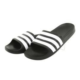 Klapki adidas Adilette Aqua K Jr F35556 białe czarne 3