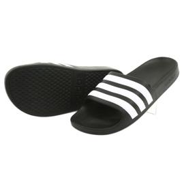 Klapki adidas Adilette Aqua K Jr F35556 białe czarne 4