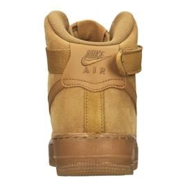 Buty Nike Air Force 1 High LV8 Gs Jr CK0262-700 brązowe 3