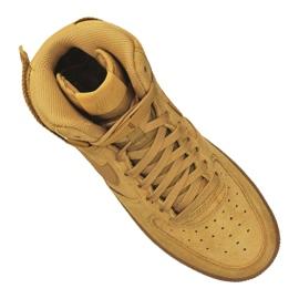 Buty Nike Air Force 1 High LV8 Gs Jr CK0262-700 brązowe 4