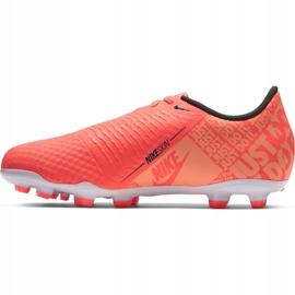 Buty piłkarskie Nike Phantom Venom Academy Fg Jr AO0362 810 pomarańczowe pomarańczowe 2