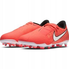 Buty piłkarskie Nike Phantom Venom Academy Fg Jr AO0362 810 pomarańczowe pomarańczowe 3