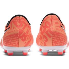 Buty piłkarskie Nike Phantom Venom Academy Fg Jr AO0362 810 pomarańczowe pomarańczowe 4