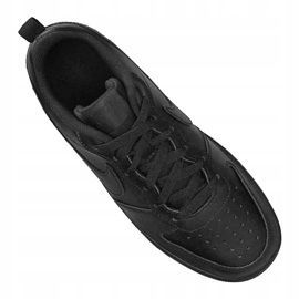 Buty Nike Jr Court Borough Low 2 (GS) Jr BQ5448-001 czarne 1
