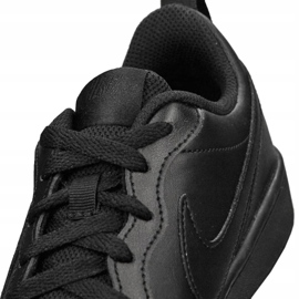 Buty Nike Jr Court Borough Low 2 (GS) Jr BQ5448-001 czarne 2